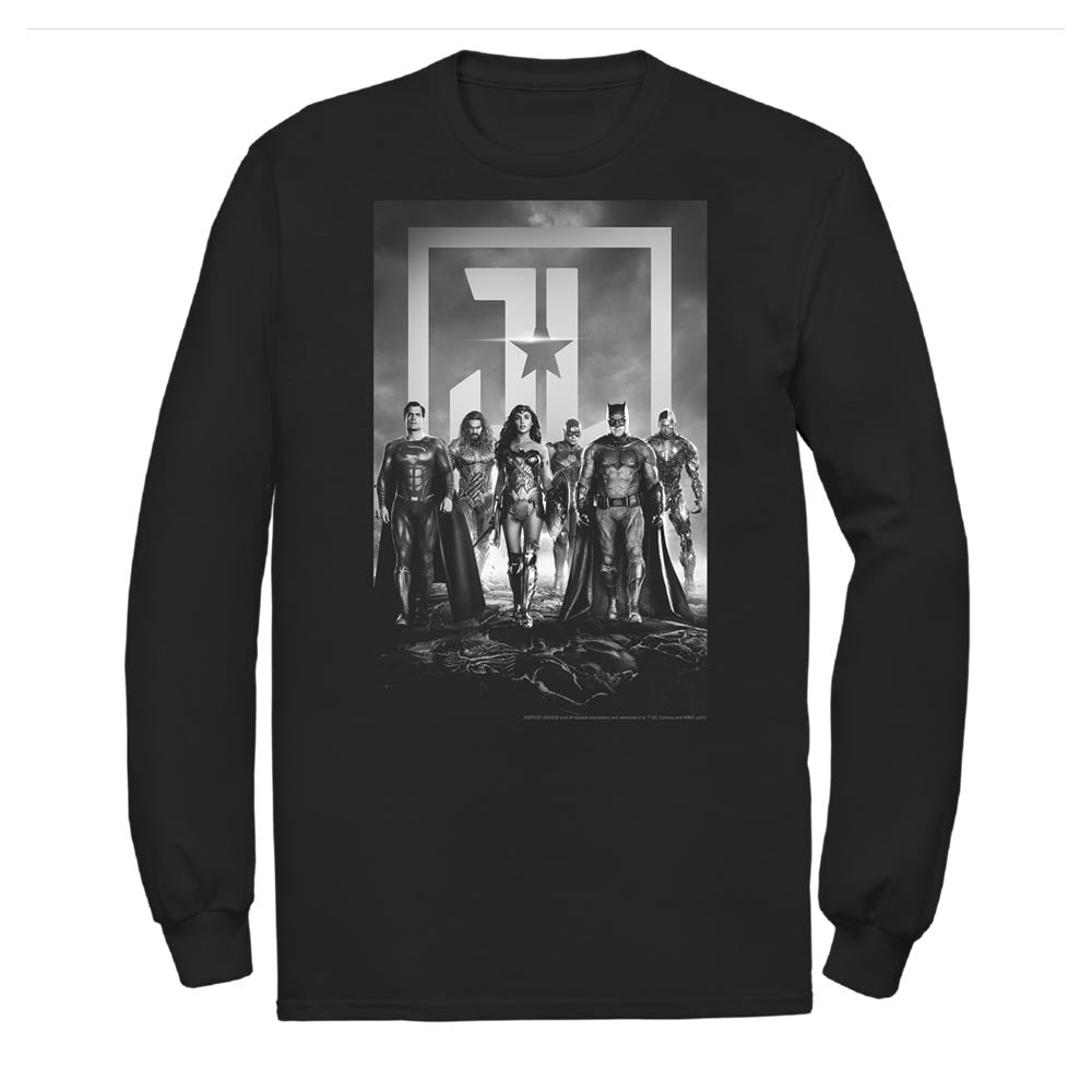 JUSTICE LEAGUE Poster Long Sleeve Tee