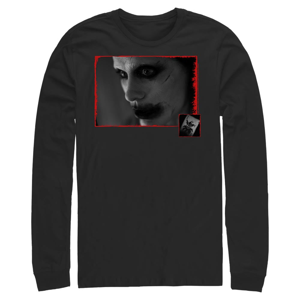 Black JUSTICE LEAGUE The Joker Story Time Long Sleeve Tee Image