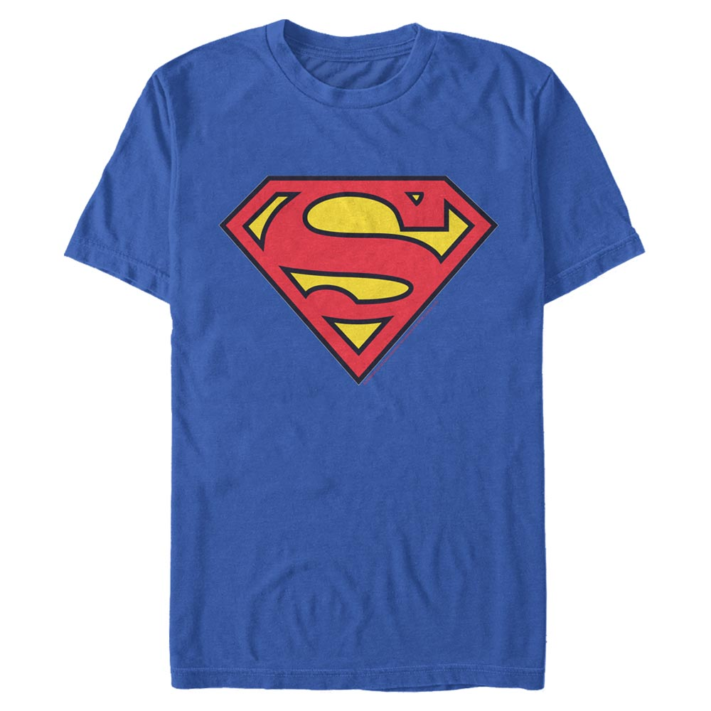 SUPERMAN Classic Shield Logo T-Shirt