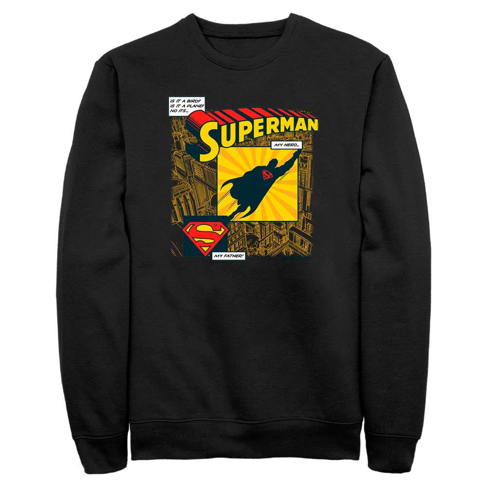 Black DC FATHER'S DAY Superman My Hero T-Shirt Image