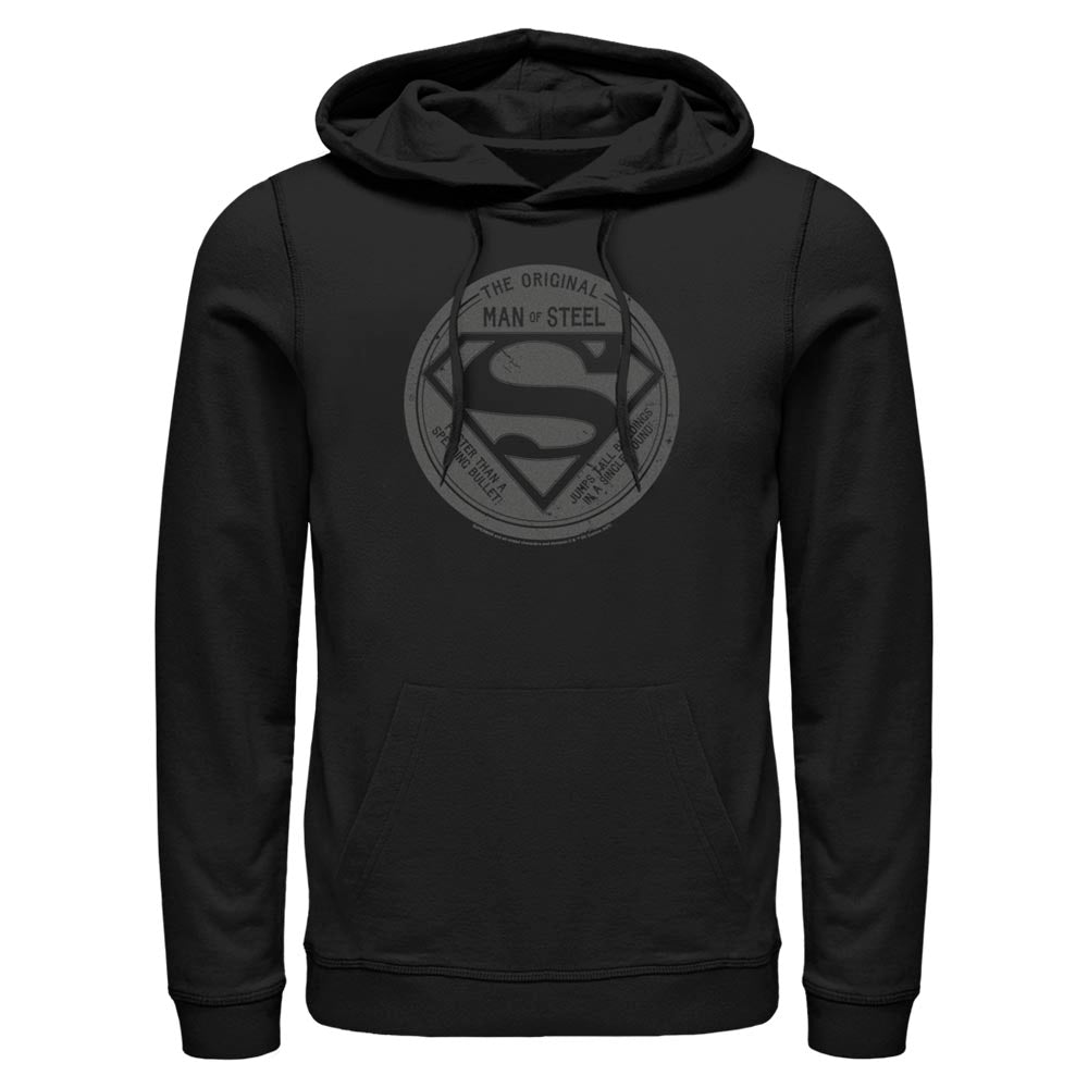 DC FATHER'S DAY Original Man of Steel Vintage Style Hoodie