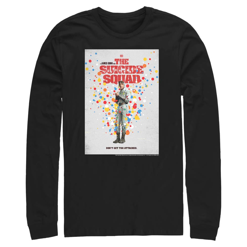 THE SUICIDE SQUAD Polka-Dot Man Poster Long Sleeve Tee