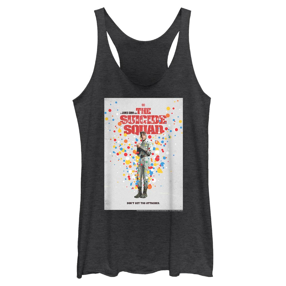 THE SUICIDE SQUAD Polka-Dot Man Poster Women's Racerback Tank