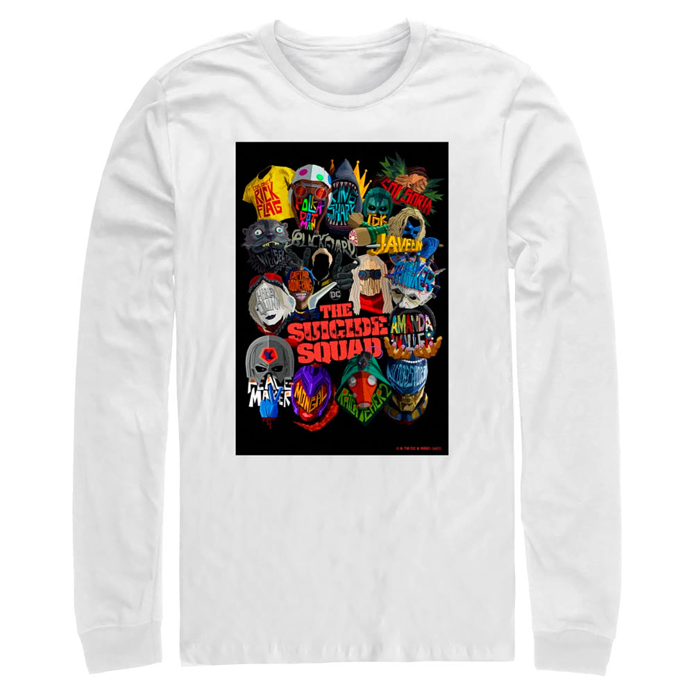 THE SUICIDE SQUAD Movie Poster Long Sleeve Tee