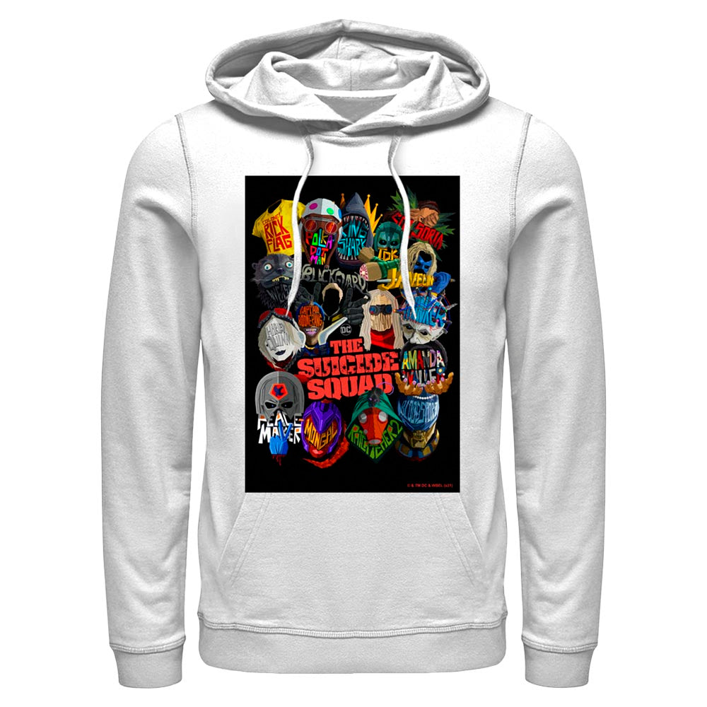THE SUICIDE SQUAD Movie Poster Hoodie