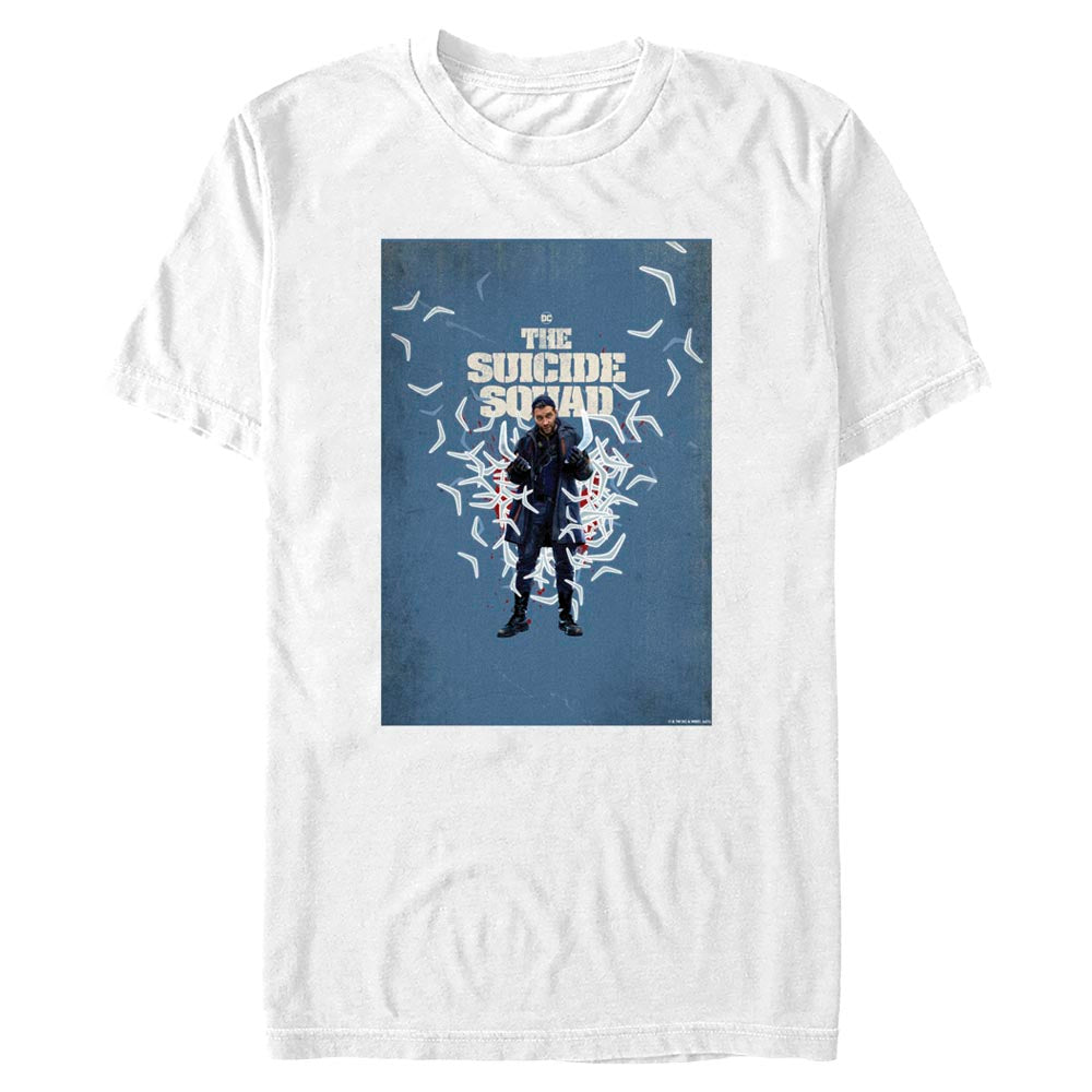 THE SUICIDE SQUAD Captain Boomerang Poster T-Shirt