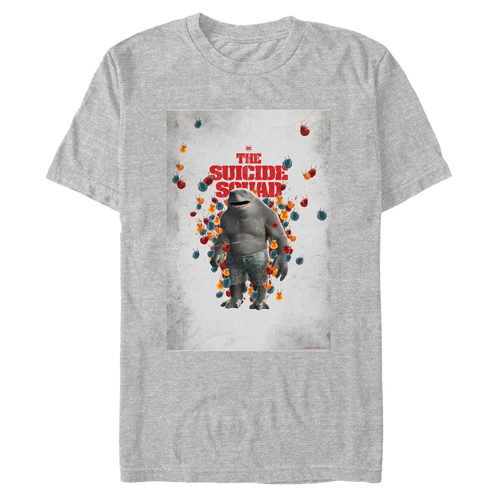 THE SUICIDE SQUAD King Shark Poster T-Shirt
