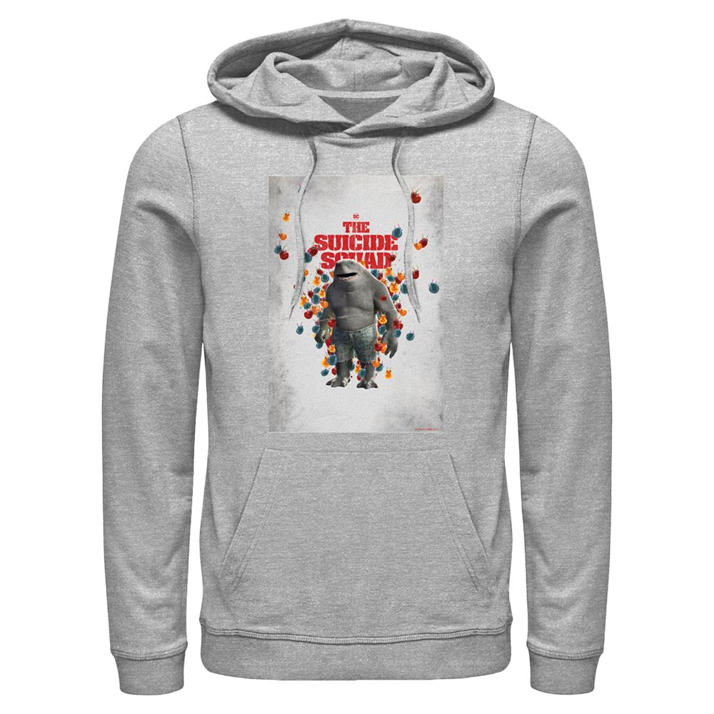 THE SUICIDE SQUAD King Shark Poster Hoodie