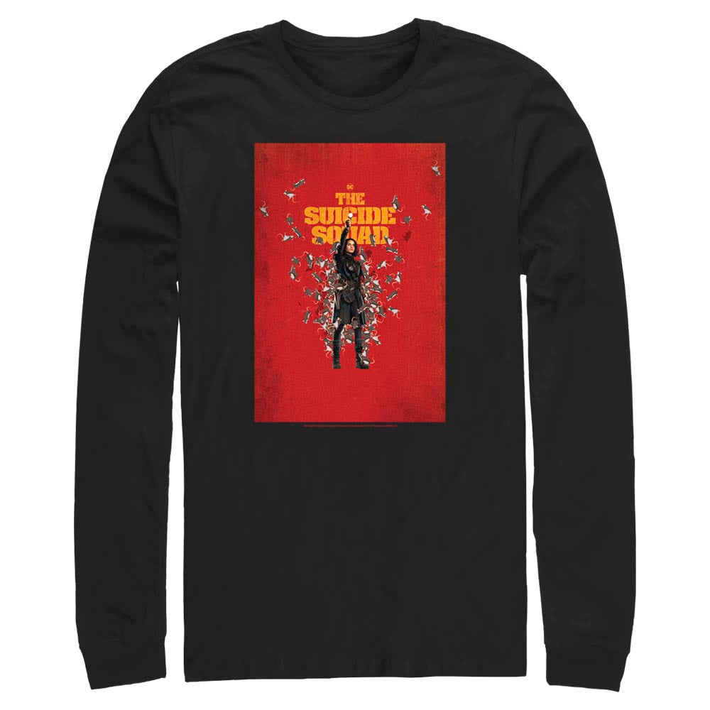 THE SUICIDE SQUAD Ratcatcher 2 Poster Long Sleeve Tee