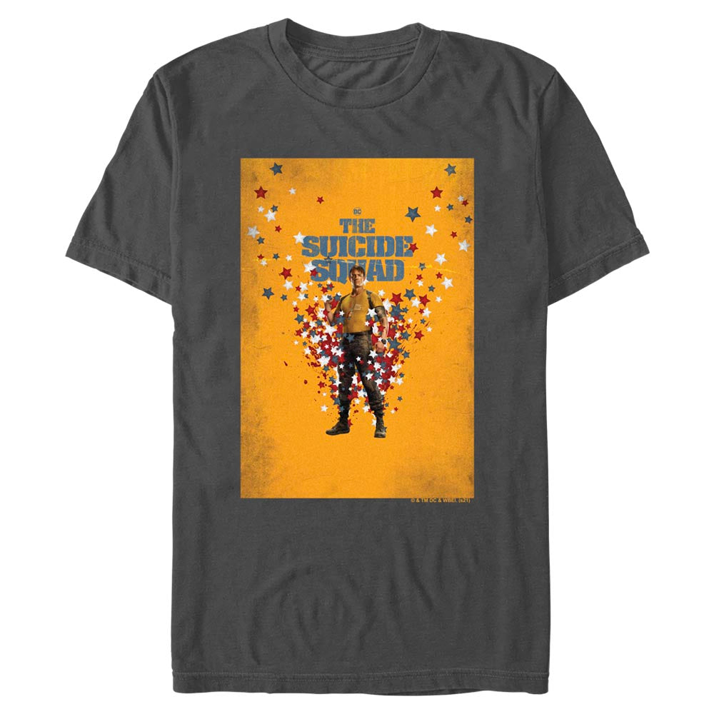 THE SUICIDE SQUAD Rick Flag Poster T-Shirt