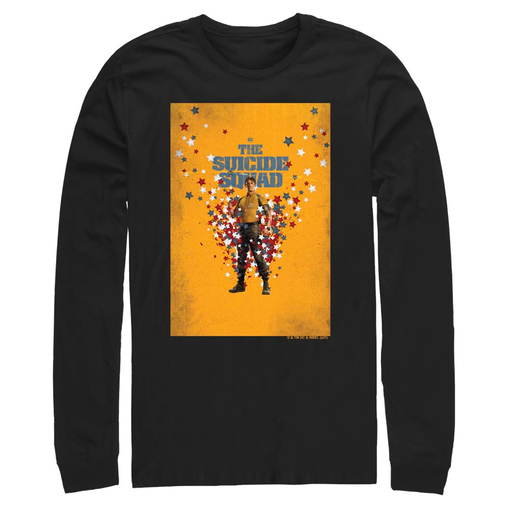THE SUICIDE SQUAD Rick Flag Poster Long Sleeve Tee