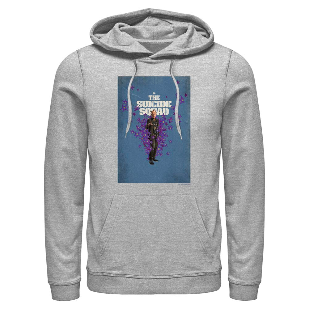 Grey Heather THE SUICIDE SQUAD Thinker Poster Hoodie Image