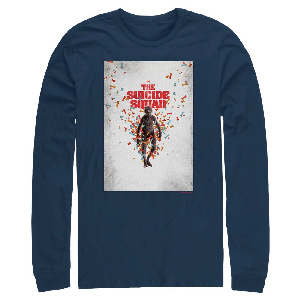 THE SUICIDE SQUAD Weasel Poster Long Sleeve Tee