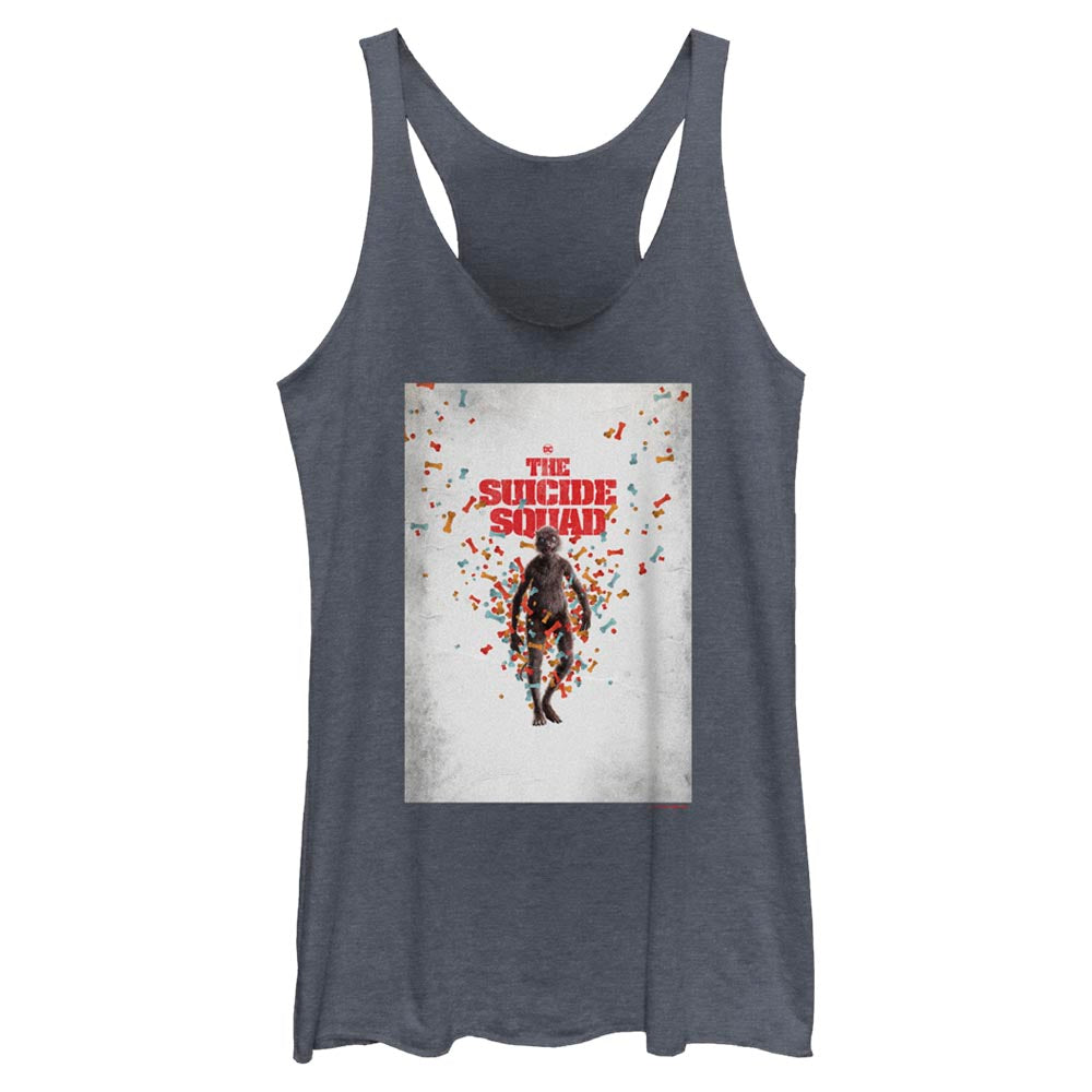 THE SUICIDE SQUAD Weasel Poster Women's Racerback Tank