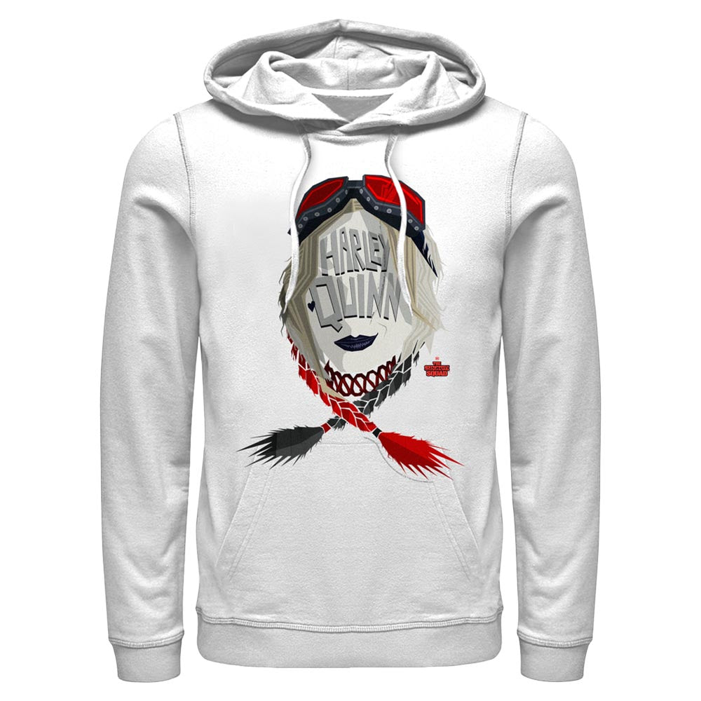 White HARLEY QUINN - The Suicide Squad Icon Hoodie Image