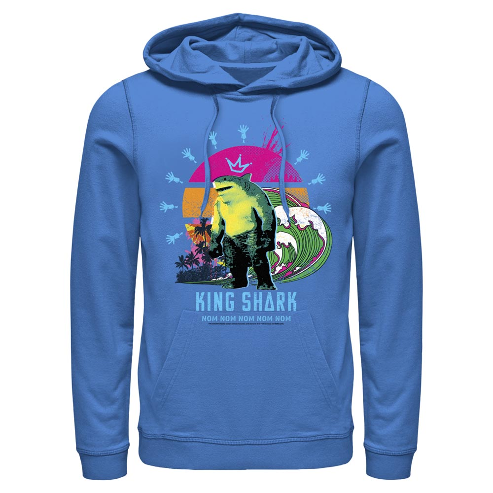 THE SUICIDE SQUAD King Shark Crown Hoodie