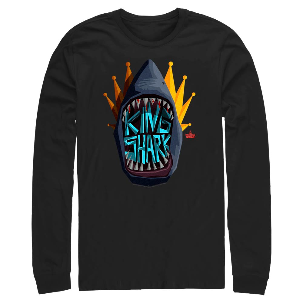 THE SUICIDE SQUAD King Shark Graphic Icon Long Sleeve Tee