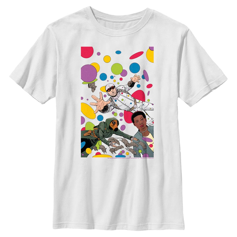 White THE SUICIDE SQUAD Floating Dots Kids' T-Shirt Image