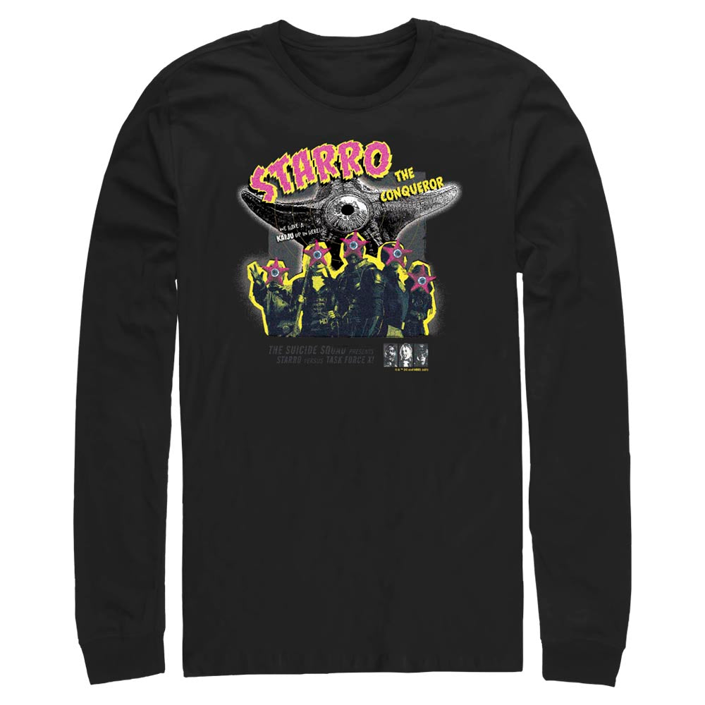 THE SUICIDE SQUAD - Starro the Conqueror Long Sleeve Tee