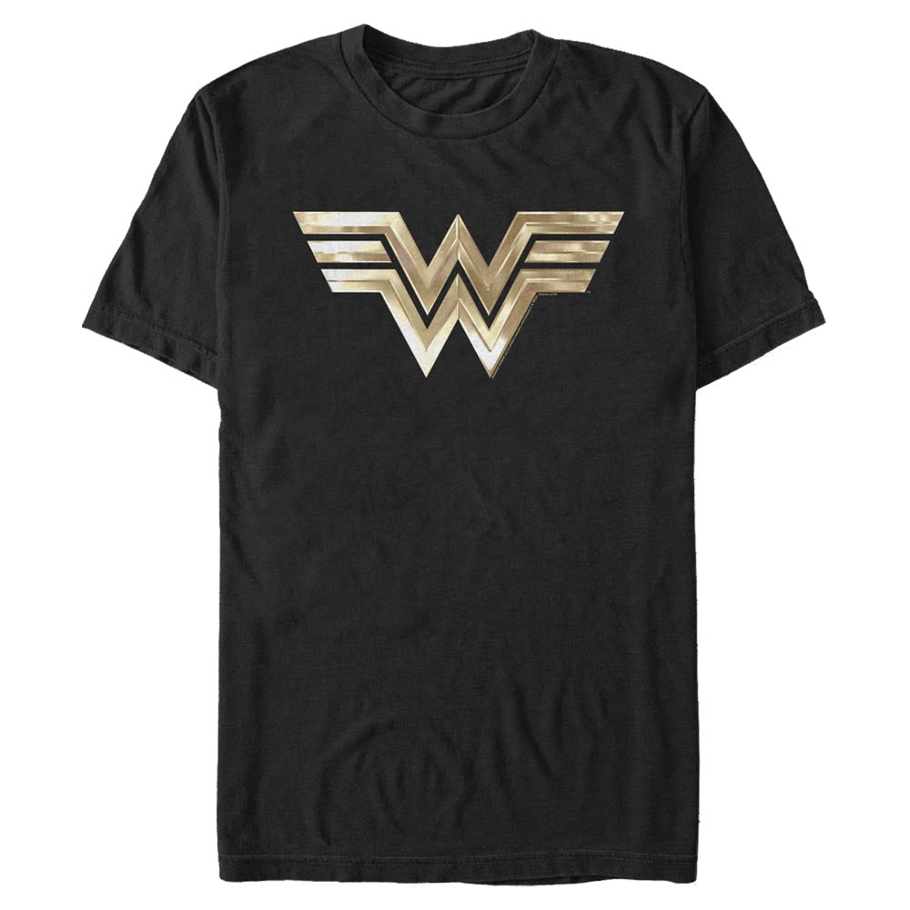 WONDER WOMAN 1984 Gold Logo T-Shirt