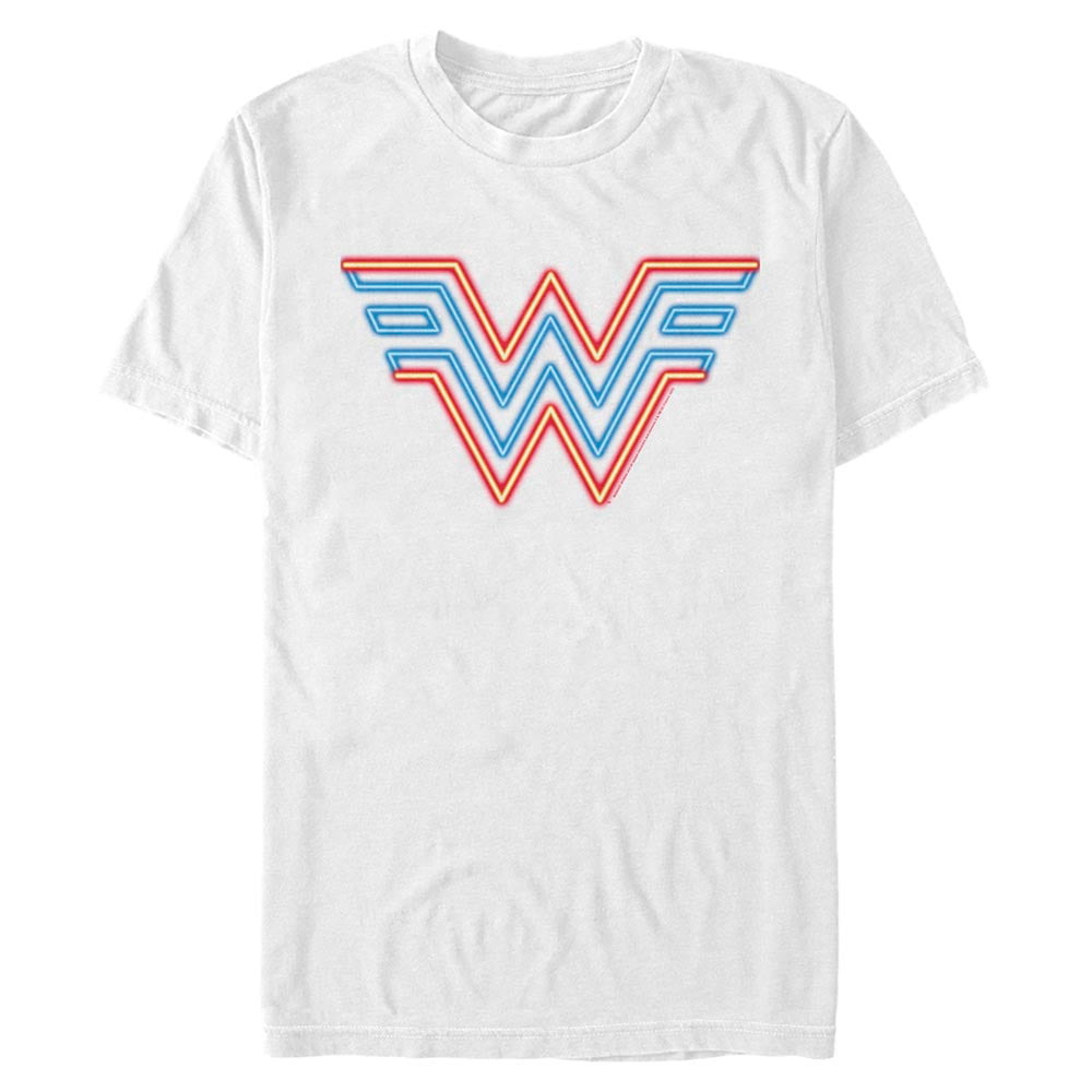 WONDER WOMAN Neon Logo T-Shirt