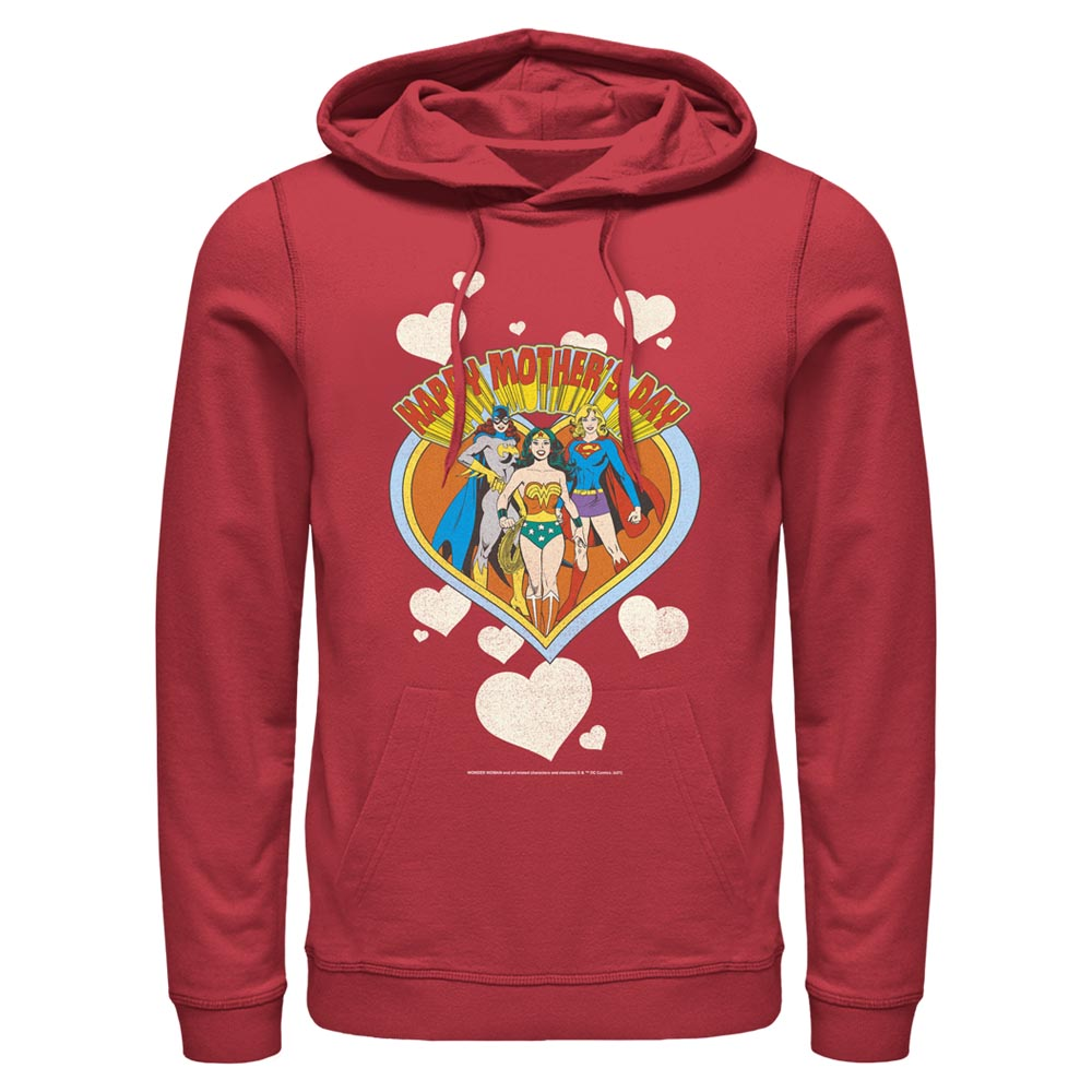 Red DC MOTHER'S DAY Heart Hoodie Image