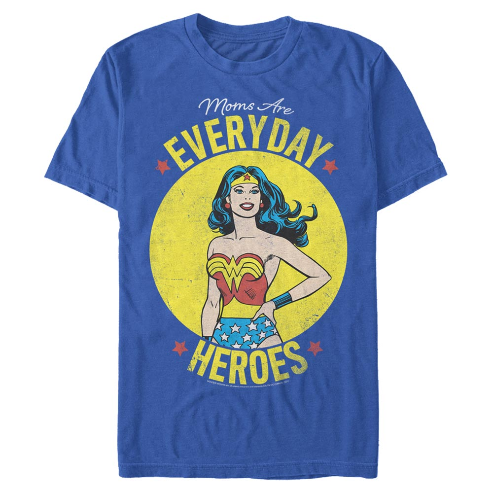 Royal Blue DC MOTHER'S DAY Everyday Heroes T-Shirt Image