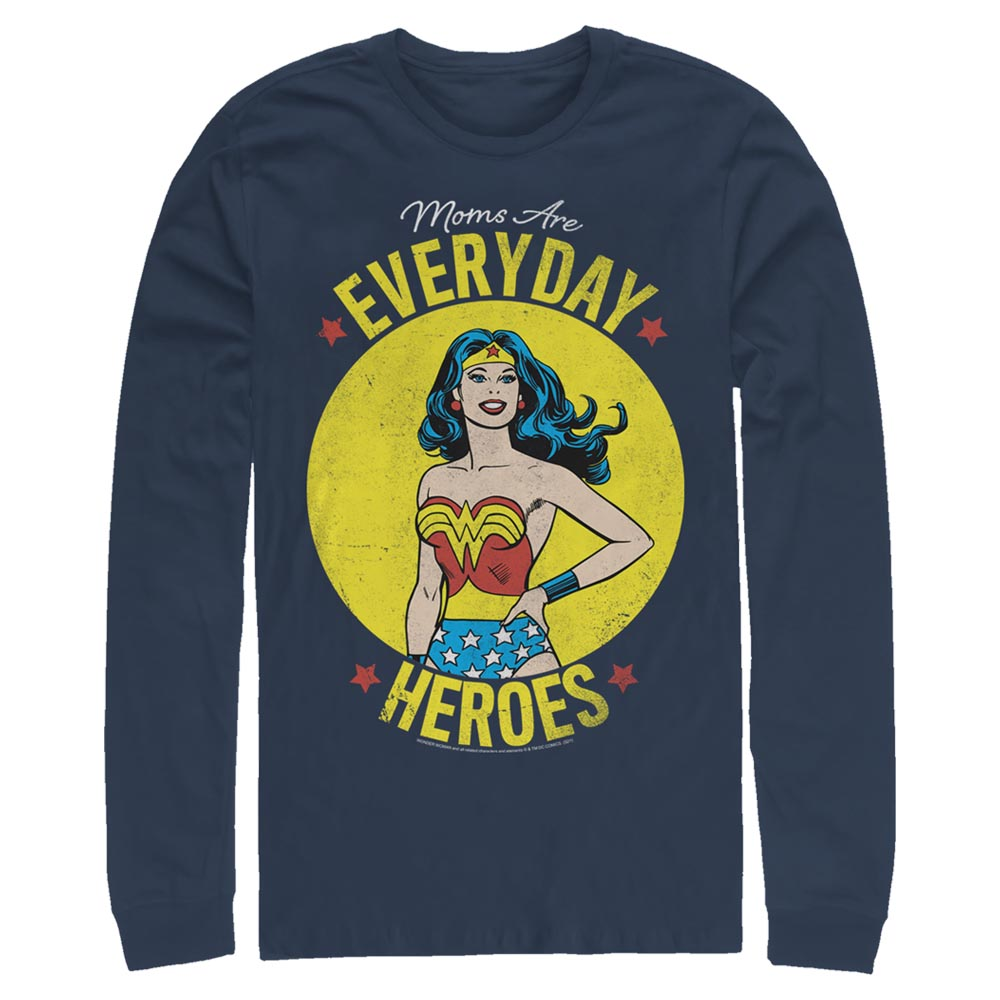DC MOTHER'S DAY Everyday Heroes Long Sleeve Tee