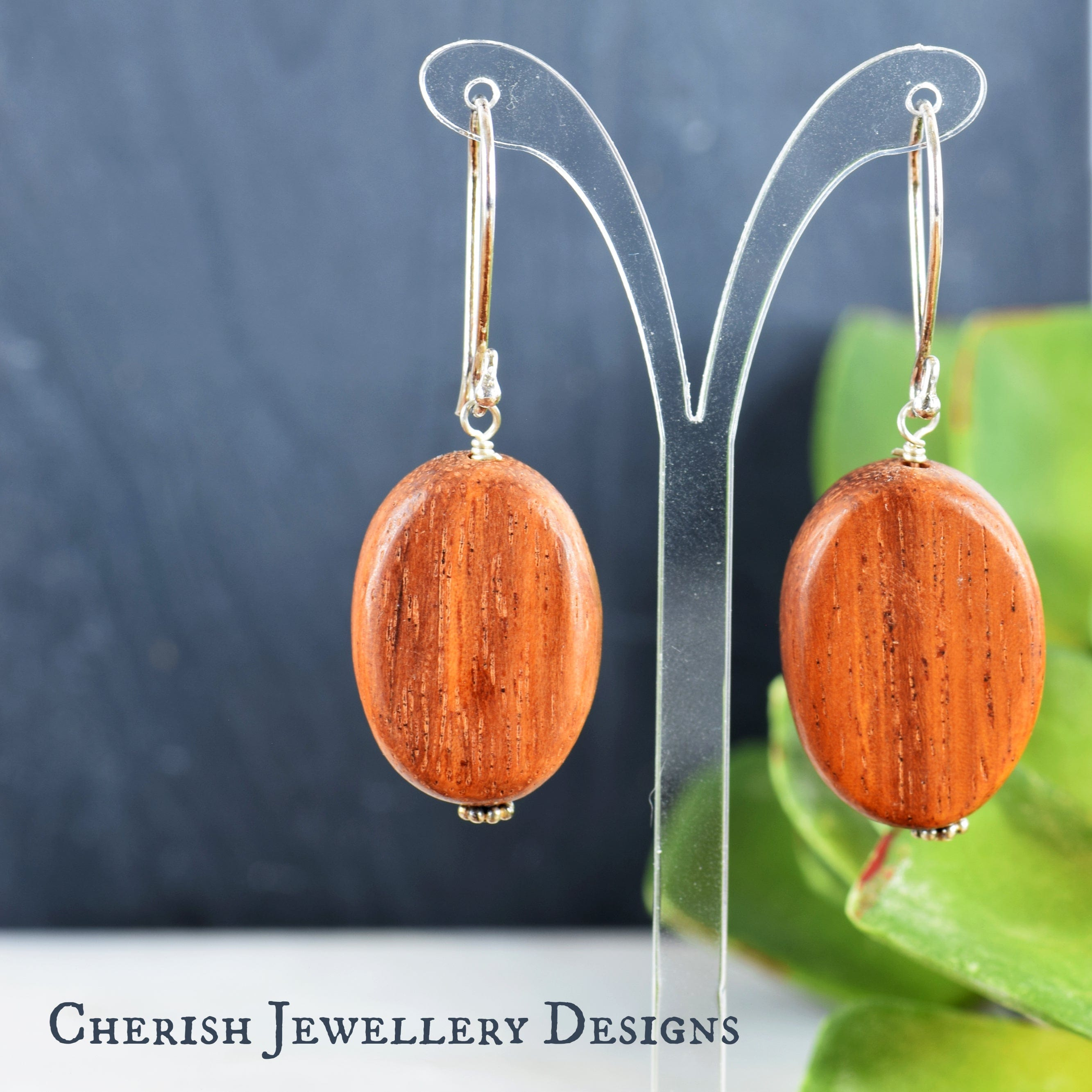 Bayong Oval Earrings
