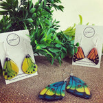 Tropical Butterfly Earrings