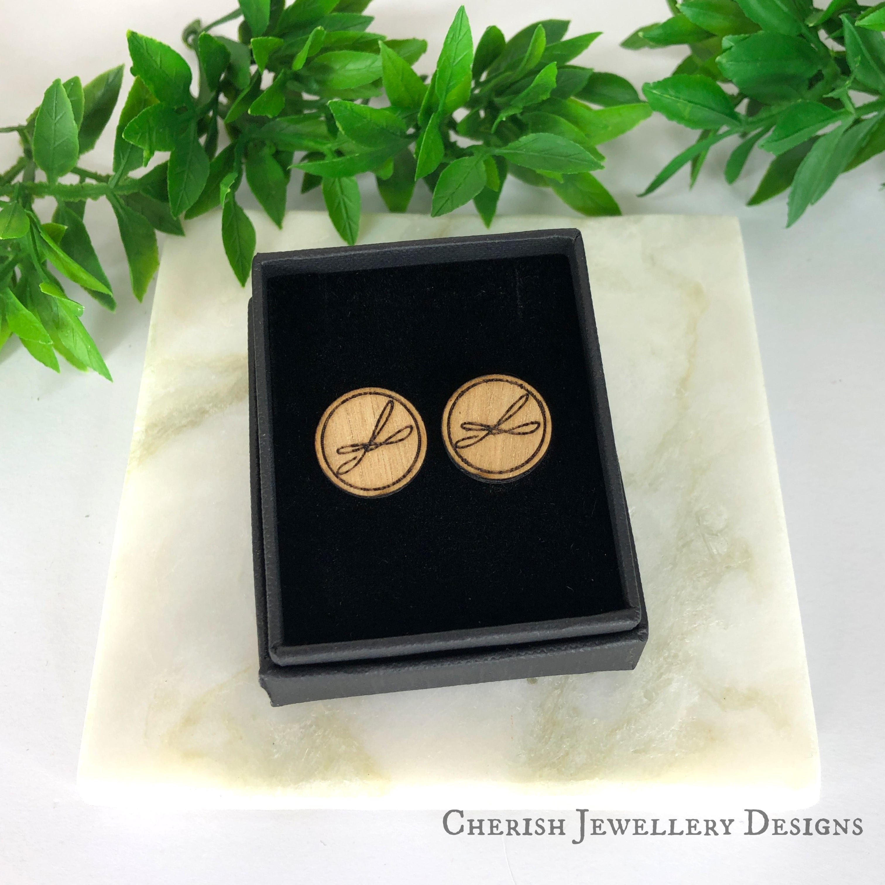 Love Birds Stud Earrings