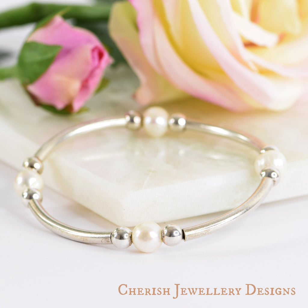 Madison Pearl Bracelet