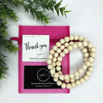 Metallic Classic Timber Necklaces