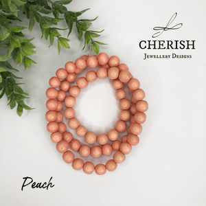Warm Colours Classic Timber Necklaces