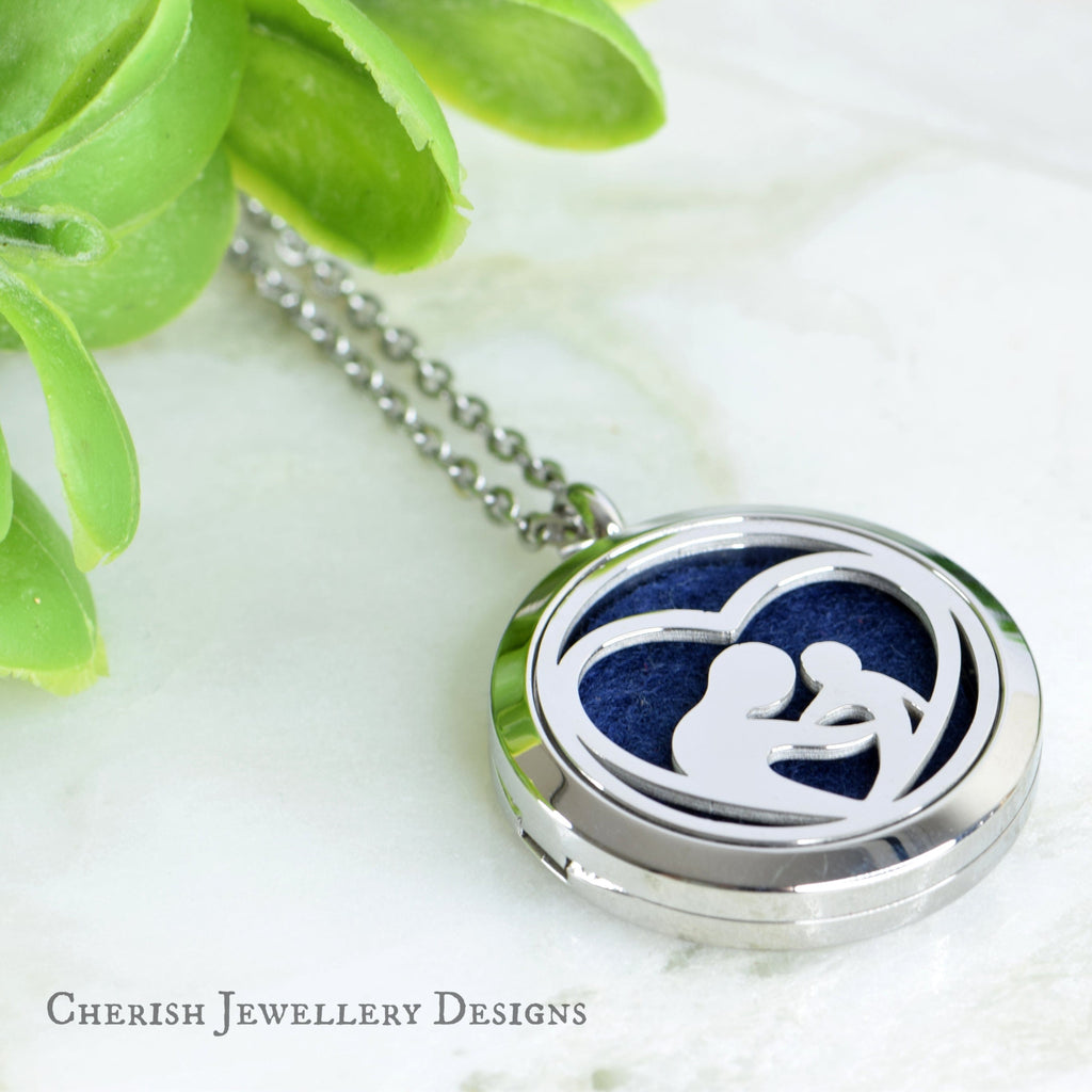 Silver Mother's Love Pendant