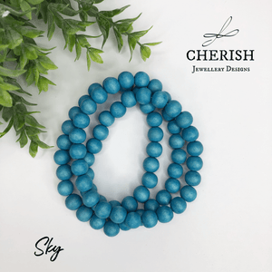 Cool Colours Classic Timber Necklaces