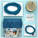 Cherish Your Teacher Gift Pack: Cornflower Blue