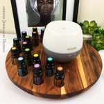 Timber Diffuser & Essential Oil Holder (17 hole)