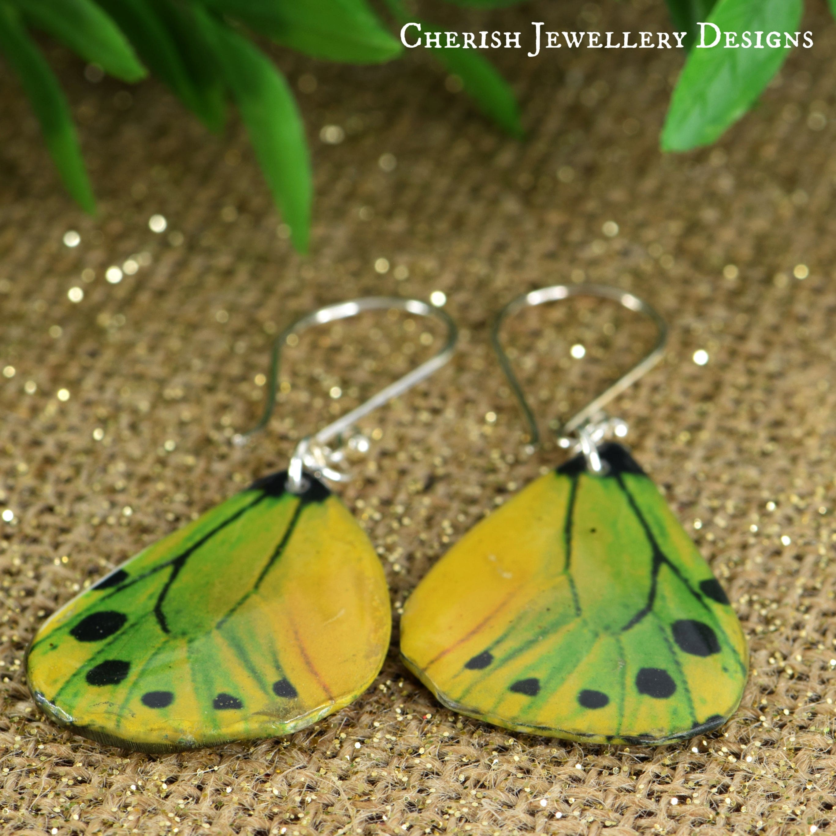 Birdwing Butterfly Earrings