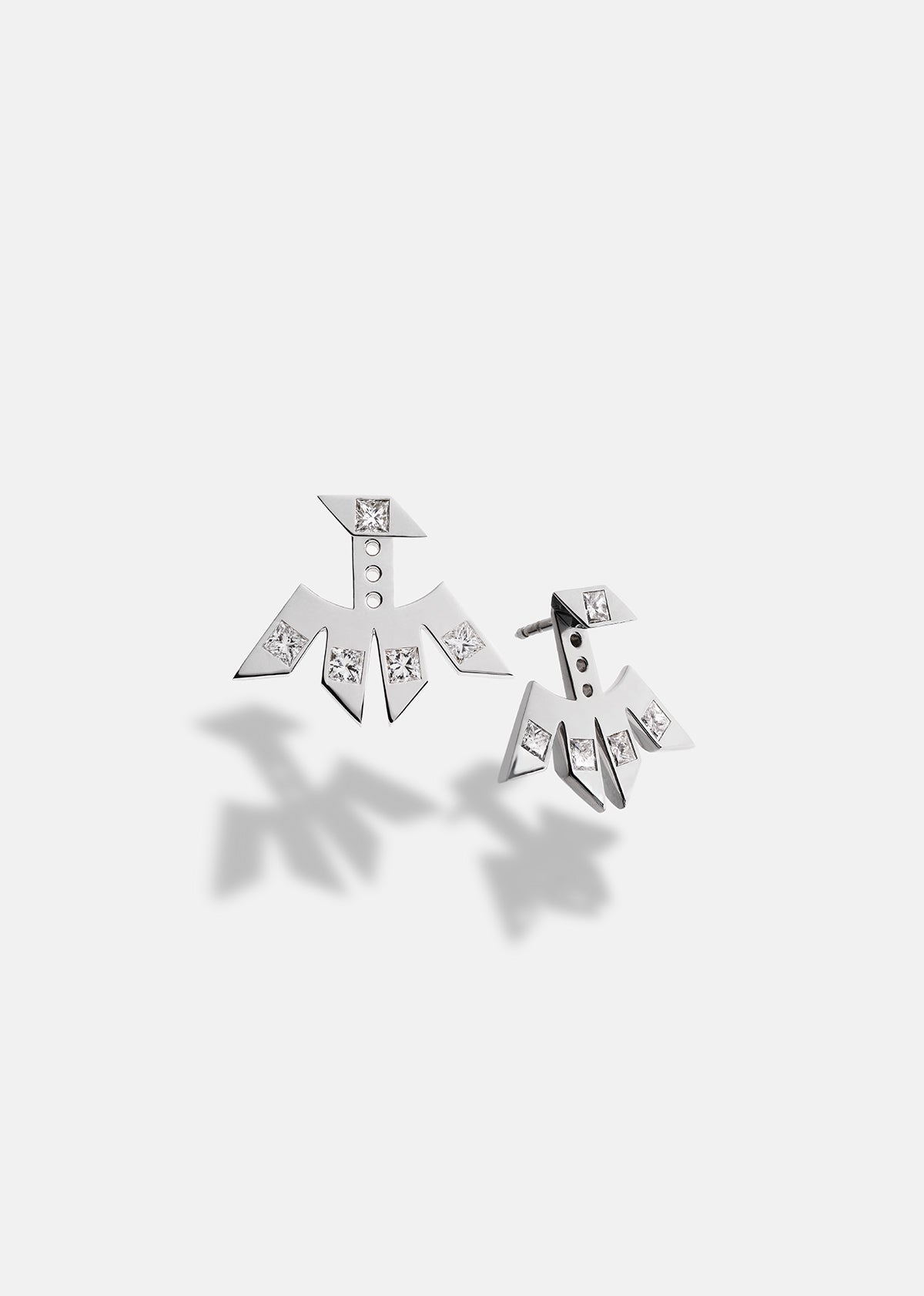 Synthesis Diamond Earring Jacket Set