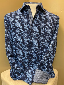 Floral Me Up Navy!