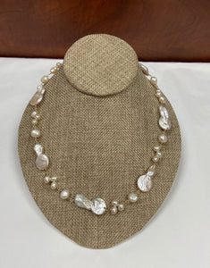 ***FINAL SALE*** Funky Pearl Necklace