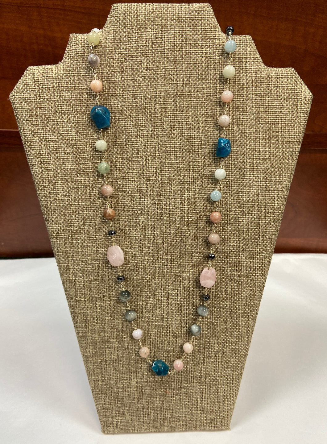 Cotton Candy Dreams Lariat Necklace