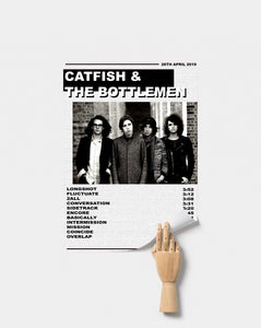 catfish and the bottlemen poster