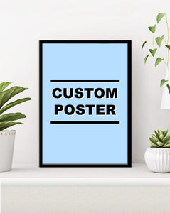 Custom Music Poster Made To Order!