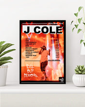 Load image into Gallery viewer, j cole poster