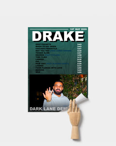 Drake Poster |  Demo Tapes Print