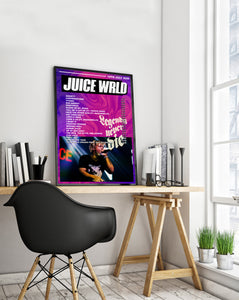 Juice Wrld Poster | Legends Never Die