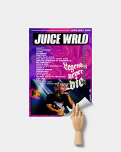 Load image into Gallery viewer, Juice Wrld Poster | Legends Never Die