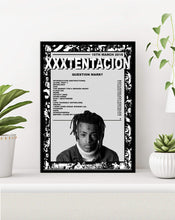 Load image into Gallery viewer, xxxtentacion Poster | ? Premium Print